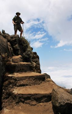 Day 2 of hiking the highest mountain in Africa- Mt. Kilimanjaro http://roarloud.net