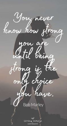 Our inner strength and resilience is what gets us through the tough times in life. You're stronger than you realize. Use these quotes to remind you of your inner strength when you're struggling. #quotesaboutlife #quotes #resilience