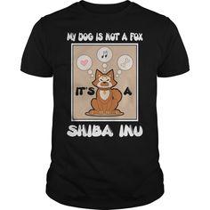 Get yours hot It's A Shiba Inu T Shirt Fox Dog Funny Gift Tee Love Shiba Inu T-Shirt Shirts & Hoodies.  #gift, #idea, #photo, #image, #hoodie, #shirt, #christmas