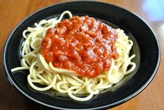 Spaghetti Sauce from the Slow Cooker could not be easier or tastier than this!