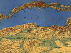 Richard Edes Harrison Reinvented Mapmaking for World War 2 Americans | New Republic