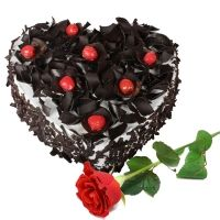 Heart Shape Cake For Your Loved On In Hyderabadsurprise Them By Sending At Midnight Home DeliveryBirthday