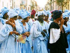 Fulani women, St. Louis, Senegal