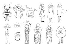 OTGW Sketches. They're pretty cool but some are unfinished... IDK who drew them though...