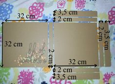 "Life of watercolors: Tutorial: Carpeta para papeles scrapbook 12x12"""