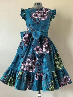 African Dresses For Kids, Latest African Fashion Dresses, African Dresses For Women, African Print Fashion, African Attire, African Print Dresses, African Women, Ankara Fashion, Africa Fashion