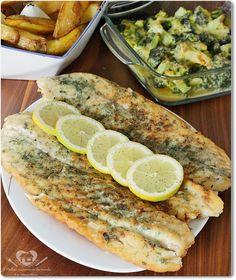 O melhor restaurante do mundo é a nossa Casa: Receita de filé de peixe frito com ervas
