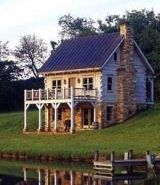 Standout Log Cabin Plans...Escape To An Earlier, Gentler Time!