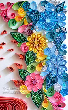 Quilling Quilling wall art Quilling art by QuillingbyLarisa