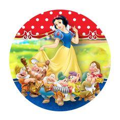 Rodelinha Branca de Neve Grátis Mermaid Cupcake Toppers, Mermaid Cupcakes, Disney Birthday, Princess Birthday, Photo Print Cake, Snow White Invitations, Barbie Images, Snow White Disney, Happy Birthday Flower