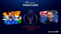 The 18th match of the World Cup 2019 will feature India facing New Zealand at Trent Bridge, Nottingham on June 13. Keep reading to find out the ICC World Cup 2019 Match 18 India vs New Zealand Match Prediction. Two unbeaten teams of the tournament are going head to head. At the end of this […] Live Cricket Tv, Icc Cricket, Cricket World Cup, India Win, Live Matches, Who Will Win, Cricket Match, West Indies, One Team