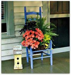 Love the blue chair