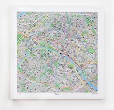 Artist Jenni Sparks has illustrated this incredibly detailed map of the french capital. From an arrondissement to another, from street to street, this graphic map illustrate the cultural treasures and secrets of paris, to discover during holidays or daily. More in the gallery.