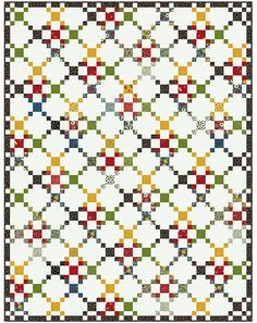 Welcome to American Jane Patterns. This could be another setting for the 4patch heart for cuddle quilts.