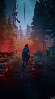 Fullhd Wallpapers, Gaming Wallpapers, Apocalypse Aesthetic, Post Apocalypse, The Lest Of Us, Post Apocalyptic Art, Ghost Of Tsushima, Culture Pop, Sad Art