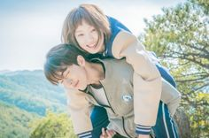 """Weightlifting Fairy Kim Bok Joo"" Releases Adorable Stills Of Lee Sung Kyung And Nam Joo Hyuk via @soompi"