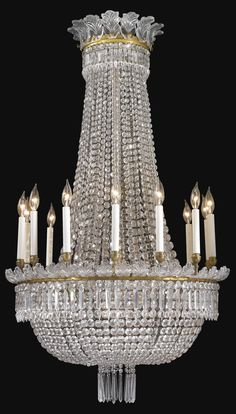 Luxury Chandelier, Hanging Chandelier, Antique Chandelier, Antique Lighting, Chandelier Pendant Lights, Crystal Chandeliers, Baccarat Crystal, Hanging Crystals, Candle Lamp