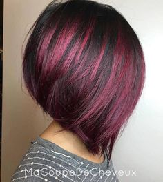 Awesome Short Hair Cuts For Beautiful Women Hairstyles 32 Hair Color And Cut, Cool Hair Color, Short Hair Colour, Colored Short Hair, Hair Color 2018, New Hair Colors, Great Hair, Fall Hair, Hair Today