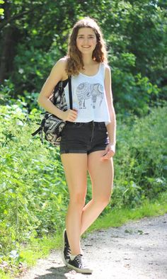 A Fashion Way of Life: Outfit | Elephant top