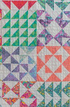 Half and Half Quilt Pattern + Block Gallery