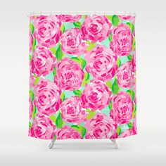 Lilly PulitzerR Sister Florals Shower Curtain Wish I Knew Who My Room Mate Will Be So Can Tell Her We NEED Pulitzer EVERYTHING