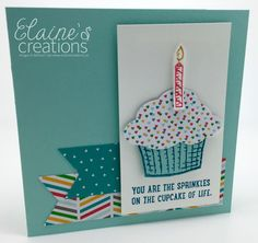 Elaine's Creations: Sprinkles of Life Birthday Card