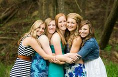 Senior Picture Ideas for Girls (that would be cool to do with a group of friends all graduating the same yr.)