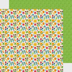 Introducing the Sunkissed Collection & Giveaway from Doodlebug Design - 12x12 double-sided paper