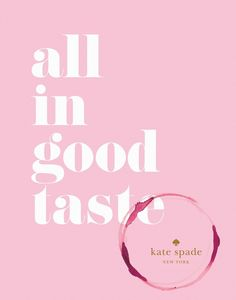 This Kate Spade book is a coffee table must-have.