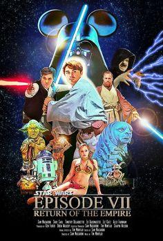 Disney Star Wars Episode VII: A Fan Parody