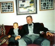 Jake and Mark at his wedding 1996