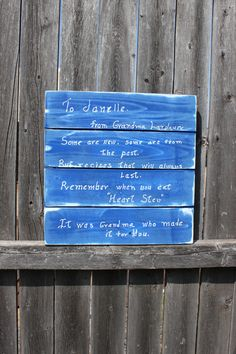 Handwriting Home Decor, Turn Handwriting into Wall Art, Pallet Style Sign, Handwriting Sign, Memorial Sign, Loss Sign, Special Memories Sign