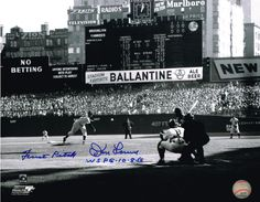 Don Larsen WSPG First Pitch Photo Auto New York Yankees Perfect Game #AutographedPhoto