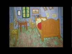 Vincent van Gogh, The Bedroom, 1889 (Art Institute of Chicago)