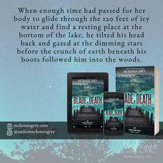 """Blade of Death"" a Kyndall Family Thriller by McKenna Grey. A thriller prequel set in Alaska. Contemporary Romance Novels, Pen Name, Thrillers, Short Stories, Wilderness, Alaska, Blade, Track, Death"