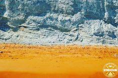 The famous Xi beach at Paliki peninsula-Kefalonia Greece