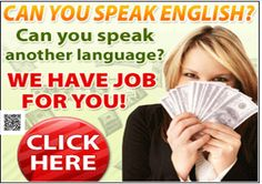 Speak Two Languages? Want a Job? Earn Up To $315 A Day Translating Words! …http://6538e2zhxohwds1fx--c-vy-zm.hop.clickbank.net/?tid=ATKNP1023