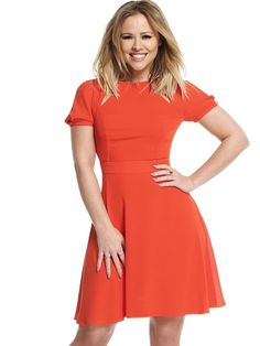 Kimberley Cut Out Skater Dress in Clothes, Shoes & Accessories, Women's Clothing, Dresses | eBay