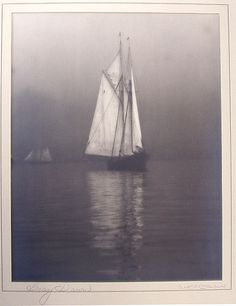 "Wallace R. MacAskill (1890-1956)-this century's greatest maritime photographer, ""Gray Dawn"" (Schooner Bluenose)"