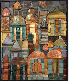 Possible beautiful quilt design - Mosaic Artist Sonia King (Actually this is her mother's work. Mosaic Tile Art, Mosaic Artwork, Stone Mosaic, Mosaic Glass, Stained Glass, Glass Artwork, Mosaic Pictures, Mosaic Designs, Mosaic Patterns