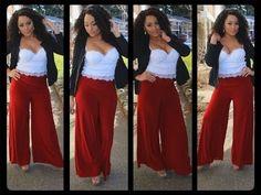Diy Clothing, Sewing Clothes, Pants Tutorial, Wrap Pants, Diy Tops, Split Skirt, Fleece Pants, Simplicity Patterns, Celebrity Look