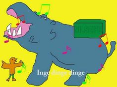 Kinderlied: Ich bin ein kleines Nilpferd - YouTube