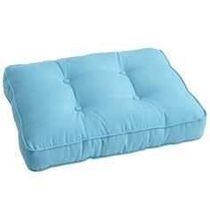 Floor cushions for table. Pier 1.