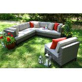 Found it at Wayfair - Camilla 4 Piece Sectional with Cushions