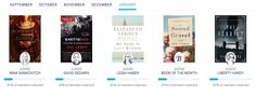 January 2016 Book of the Month Selection Time + Discount Code - 3 Books $6.99 Each! - http://hellosubscription.com/2015/12/january-2016-book-month-selection-time-discount-code-3-books-6-99/ #Bookspan