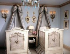Luxury Twin Baby Rooms Decorating Ideas