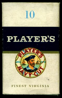 Cigarette Packet - Player's Navy Cut by cigcardpix, via Flickr