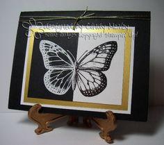 Butterfly Split Image by Cre8tveLdy - Cards and Paper Crafts at Splitcoaststampers