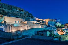 """THE STORY OF """"NEW PYRGOS"""" If your visit happens to coincide with the arrival of coaches pouring out tourists ready to climb on the medieval castle… too bad! You need peace and quiet to really appreciate the cobblestone paths of Pyrgos, and then go up to the Casteli and enjoy the unobstructed view over the top."""