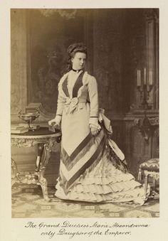 Karl [Charles] Bergamasco (1830-96) - Grand Duchess Maria Alexandrovna (1853-1920)